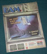 VIDEO EXPLOSION BAM MAGAZINE VINTAGE 1983 - $24.99