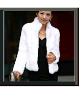 Elegant Soft Mink Faux Fur Coat Jacket with Mandarin Collar in 6 Colors - $89.95