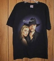 Tim McGraw Faith Hill Concert Tour T Shirt 2000 - $34.99