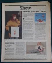 TIFFANY SHOW NEWSPAPER SUPPLEMENT VINTAGE 1990 - $19.99