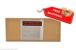 "(1000) 5.5 x 10 Packing List Enclosed Envelopes Panel Face 5.5"" x 10"" -O... - $43.57"