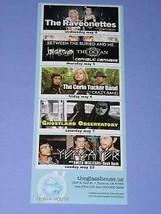 The Raveonettes Concert Promo Flyer Glasshouse Pomona - $16.99