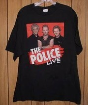 The Police Concert Tour T Shirt 2007 - $24.99