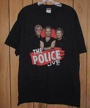 The Police Concert Tour T Shirt Live 2007 - $24.99