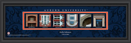 Personalized Auburn University Campus Letter Art Print - $33.96