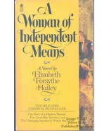 A Woman of Independent Means [Jun 01, 1979] Elizabeth Forsythe Hailey - $21.00