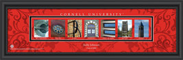 Personalized Cornell University Campus Letter Art Print - $33.96
