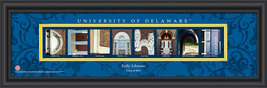 Personalized University of Delaware Campus Letter Art Print - $33.96