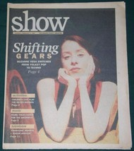 SUZANNE VEGA VINTAGE 1993 SHOW NEWSPAPER SUPPLEMENT - $19.98