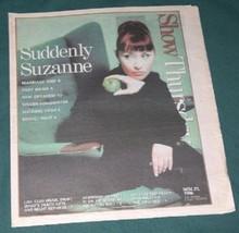 SUZANNE VEGA VINTAGE SHOW NEWSPAPER SUPPLEMENT 1996 - $19.98