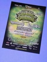 Snoop Dogg Spring Gathering Flyer San Bernardino 2011 - $16.99
