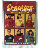 Creative Iron-On Transfers 1995 BOOK Bears, Rodeo, Birdhouses, flower pot - $11.87
