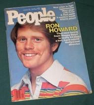 RON HOWARD VINTAGE PEOPLE WEEKLY MAGAZINE 1978 - $29.99