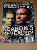 Prison Break Magazine 2007 Issue 6 Official Yearbook - $29.99