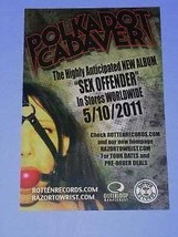 Polkadot Cadaver Promo Flyer Rottenrecords 2011 - $16.99