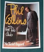PHIL COLLINS POSTCARD VINTAGE 1980'S - $14.99