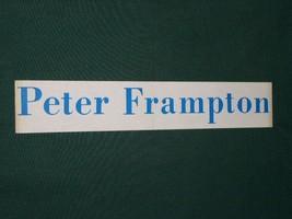 Peter Frampton Vintage 1970 S Sticker - $18.99