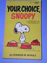 Peanuts Paperback Book Vintage 1973 Charlie Brown Snoopy - $18.99