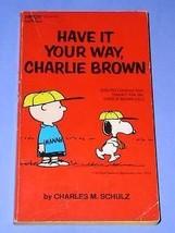Peanuts Paperback Book Vintage 1971 Charlie Brown Snoopy - $18.99