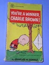 Peanuts Paperback Book Vintage 1966 Charlie Brown Snoopy - $18.99