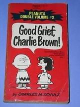 Peanuts Paperback Book Vintage 1974 Charlie Brown Snoopy - $18.99