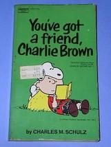 Peanuts Paperback Book Vintage 1972 Charlie Brown Snoopy - $18.99
