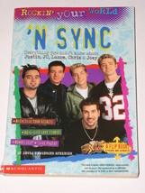 NSYNC 'N Sync FIVE Softbound Book 1999 Flip Book - $14.99