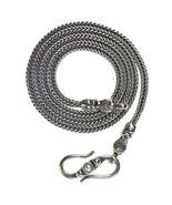 Gerochristo 3052 -Sterling Silver Byzantine Chain - 50 cm - Pearl or Garnet - $166.00