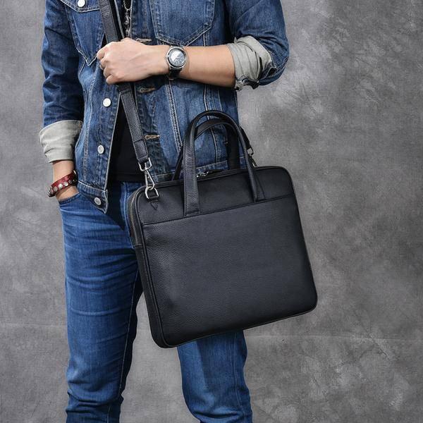 Sale, Full Grain Leather Men Briefcase, Tote, Messenger Bag, Laptop Bag, Shoulde