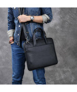 Sale, Full Grain Leather Men Briefcase, Tote, Messenger Bag, Laptop Bag,... - $200.00