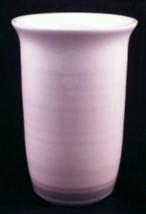 Pfaltzgraff Aura Pink Vase Utensil Holder - $16.00