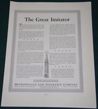 METROPOLITAN LIFE INSURANCE COMPANY 1937 SYPHILIS AD - $14.99