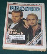 Men At Work Vintage Record Magazine 1983 - $29.99