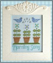 Morning Song cross stitch chart Country Cottage Needleworks - $5.40