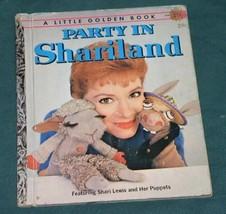 LITTLE GOLDEN BOOK SHARI LEWIS VINTAGE 1959 - $14.99