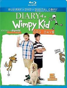 Primary image for Diary of a Wimpy Kid: Dog Days (Blu-ray Disc DVD Digital , 2012, Canadian)NEW