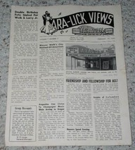 Lawrence Welk Ara Lick Views Flyer Vintage 1958 - $22.99