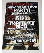 KISS Tribute Band Promotional Concert Card New Years Eve - $12.99