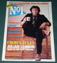 JULIAN LENNON VINTAGE NO 1 UK MAGAZINE 1985 - $29.99