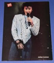 JULIAN LENNON 16 MAGAZINE PHOTO VINTAGE 1985 - $14.99