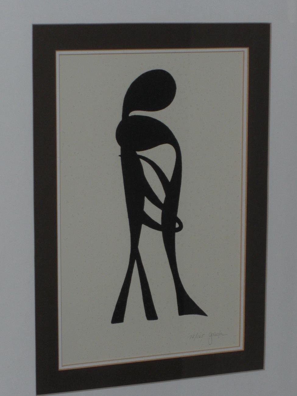 """DIALOGUE"" Sandy Gough Original Print Framed Art"
