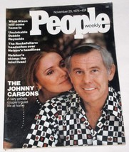 JOHNNY CARSON MAGAZINE VINTAGE 1974 PEOPLE WEEKLY - $29.99