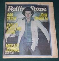 JOHN TRAVOLTA ROLLING STONE MAGAZINE VINTAGE 1978 - $24.99