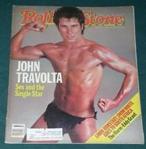 JOHN TRAVOLTA ROLLING STONE MAGAZINE VINTAGE 1983 - $24.99