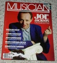 Joe Jackson Musician Magazine Vintage 1983 - $29.99