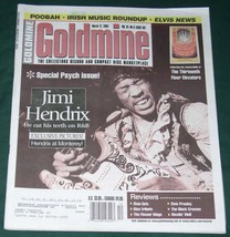 JIMI HENDRIX GOLDMINE MAGAZINE VINTAGE 2003 - $29.99
