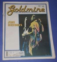 JIMI HENDRIX GOLDMINE MAGAZINE VINTAGE 1990 - $29.99