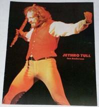 Jethro Tull Vintage Kerrang Magazine Photo Clipping - $18.99