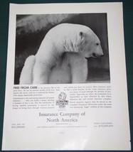 INSURANCE COMPANY OF NORTH AMERICA FORTUNE MAG. AD 1937 - $14.99