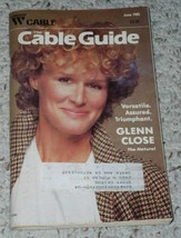 Glenn Close Group W Cable Guide Vintage 1985 - $24.99
